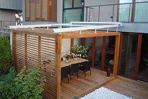 Markýzy do zimní zahrad